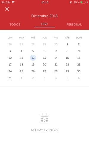 Calendario Ugr 2020.Ugr App Universidad De Granada En App Store
