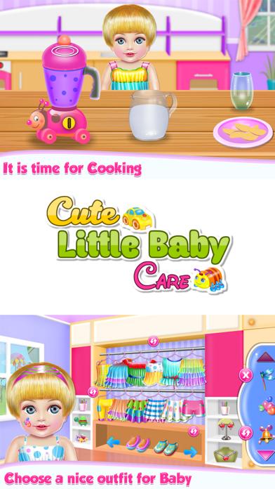 Cute Little Baby Care Screenshot