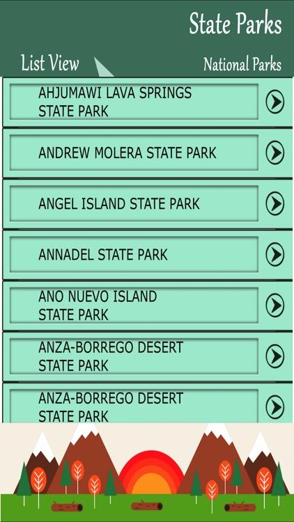 State Parks Guide - California screenshot-3