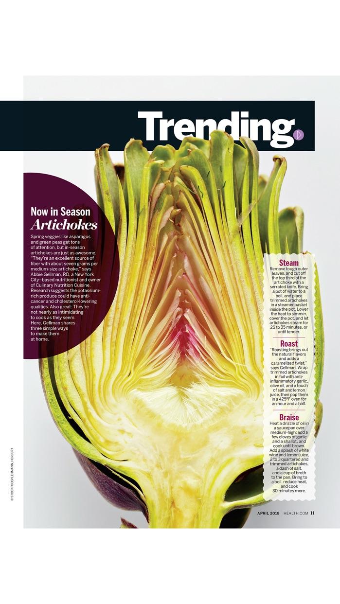 HEALTH Magazine Screenshot