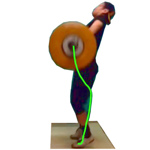 Weight Lifting Motion app