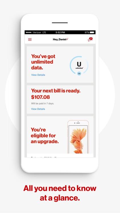 My Verizon screenshot-0
