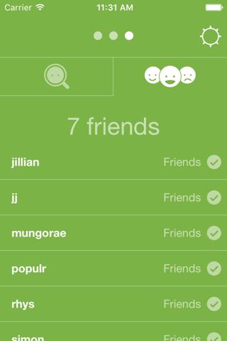 Populr - fastest messaging app - náhled
