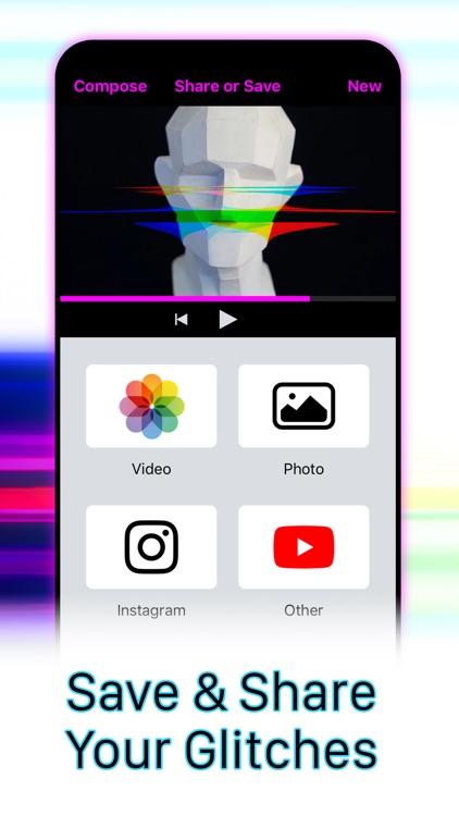 Glitches Video Photo Glitch FX screenshot-5