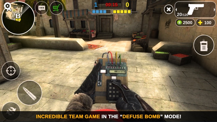 Counter Attack Multiplayer FPS screenshot-3