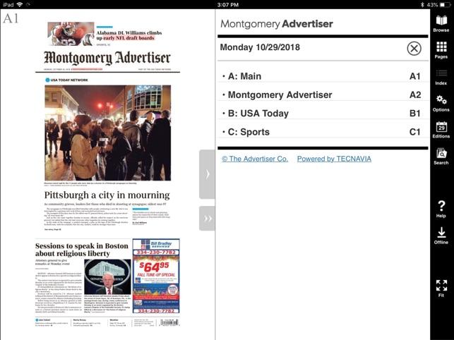 Montgomery Advertiser Print on the App Store