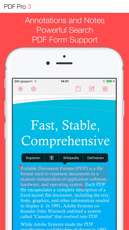 PDF Pro 3 – The ultimate PDF app screenshot-0