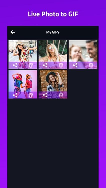 Live into GIF Maker screenshot-5