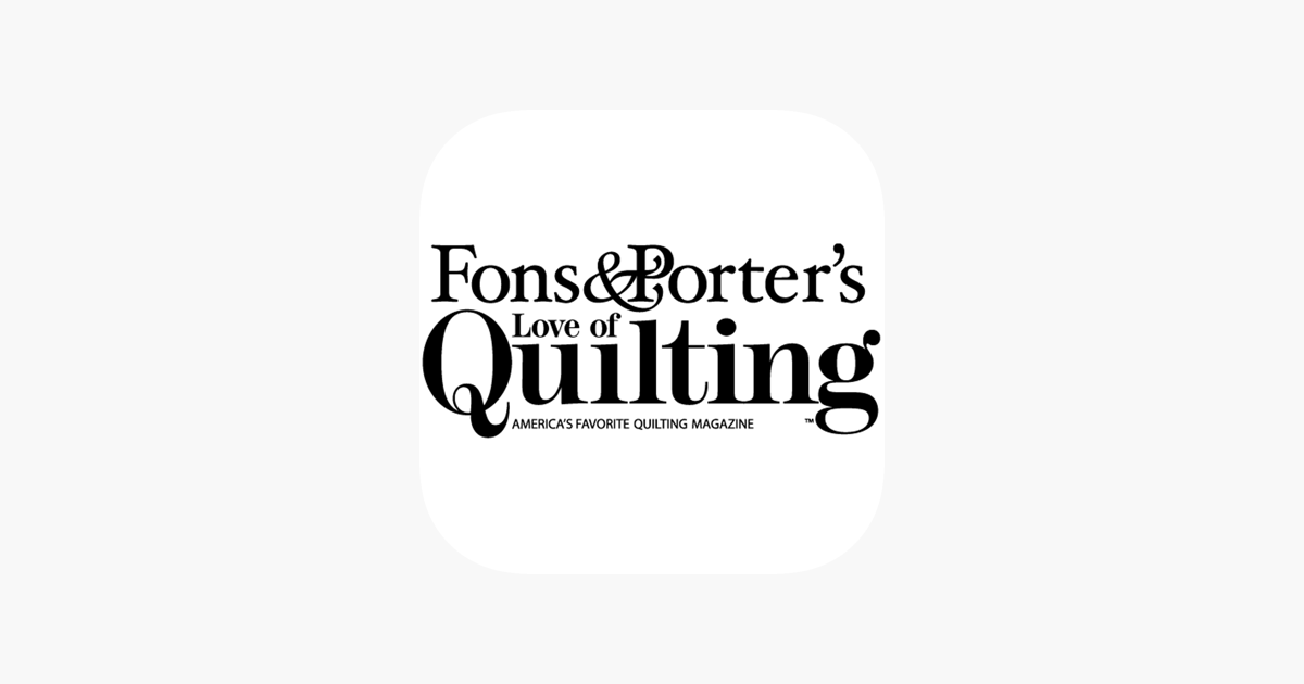 Love Of Quilting On The App Store