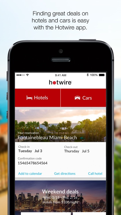 Hotwire: Travel Deals on Hotel Rooms & Car Rentals