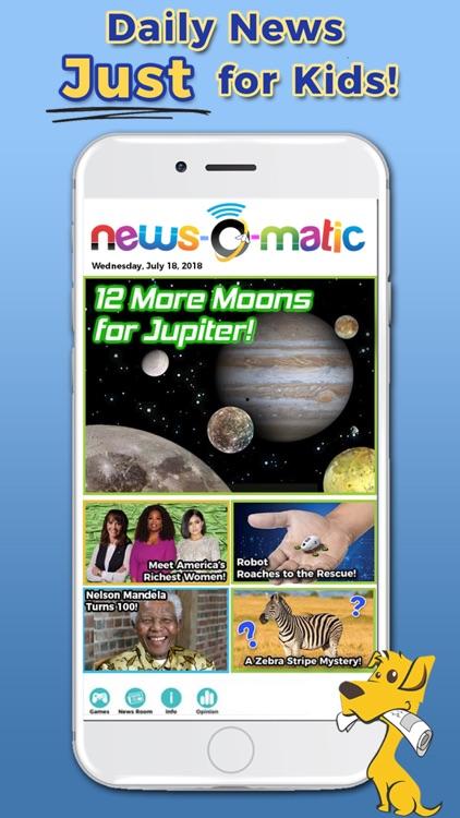 News-O-Matic: Reading for Kids screenshot-0