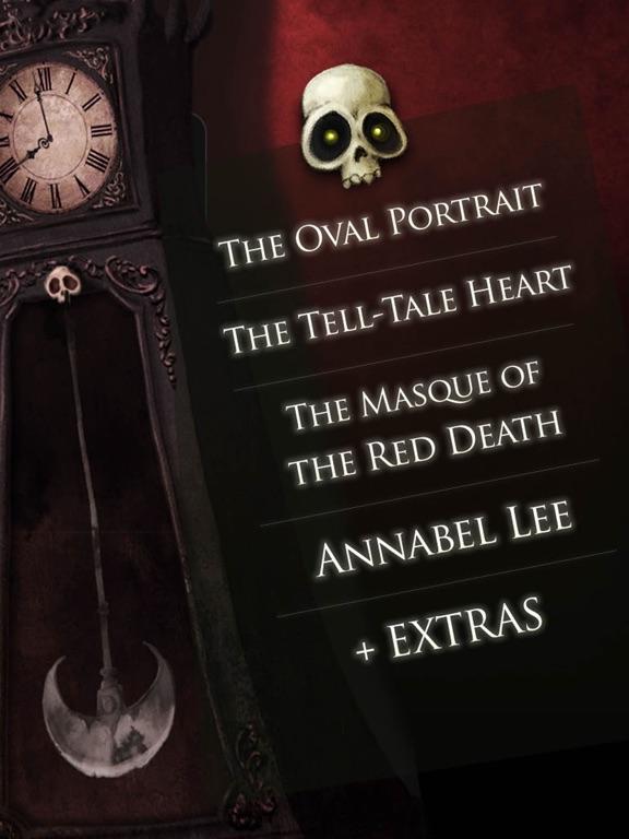 iClassics: Edgar A. Poe Vol. 1 screenshot 9