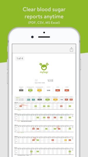 mySugr: Diabetes Tracker Log on the App Store