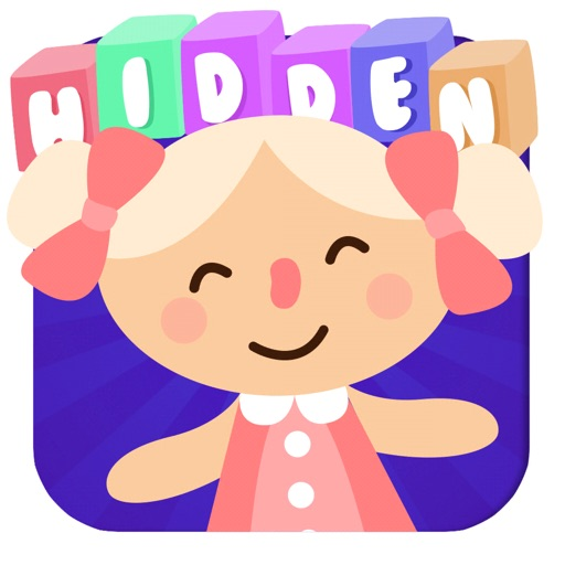 Hidden toys game for toddlers