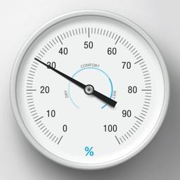 Hygrometer - realtime air humidity monitoring