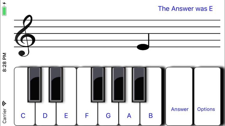 ¼ learn sight read music tutor