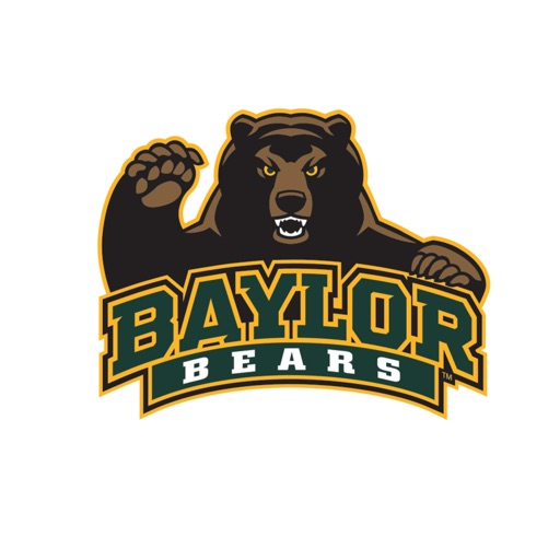 Baylor Bears Stickers for iMessage