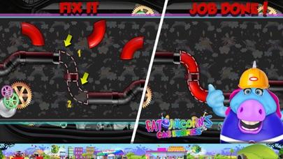 Mr. Fat Unicorn Car Mechanic screenshot 4