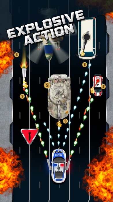 Police Road Riot Shooter screenshot two