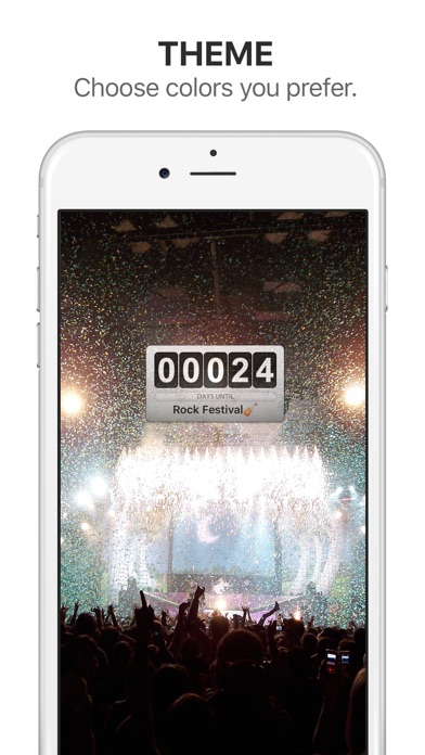 Screenshot for Big Day Lite - Event Countdown in Denmark App Store