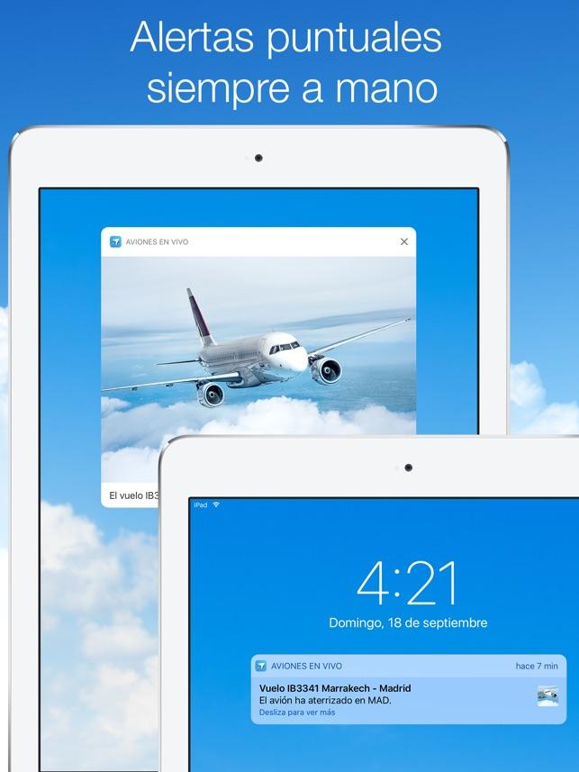 Aviones en Vivo en App Store