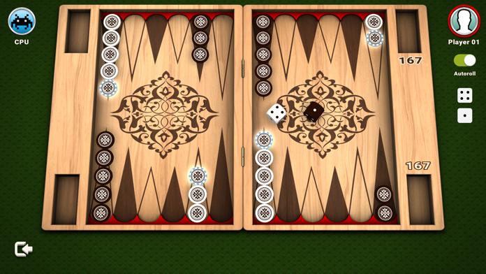 Backgammon - The Board Game Screenshot