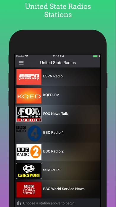 United State Radios Stations screenshot one
