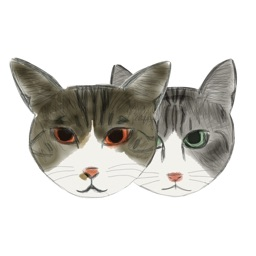 Cat Bros. Sticker Lite