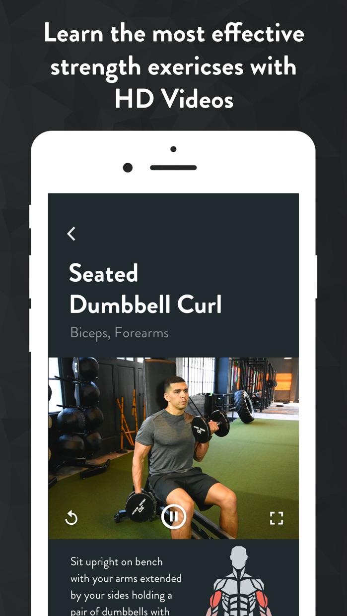 Fitbod Weight Lifting Tracker Screenshot