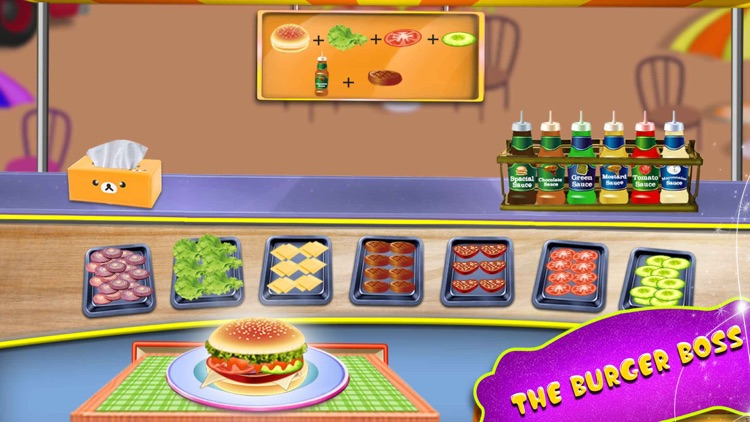 Fast Food Truck Park Chef Game screenshot-4