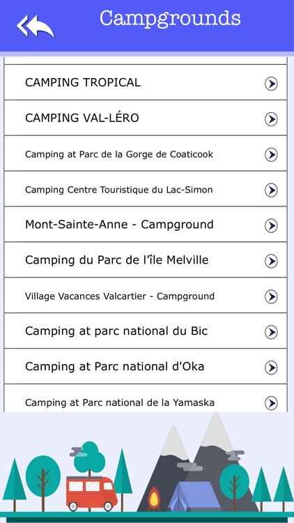 Quebec Camping & State Parks screenshot-2