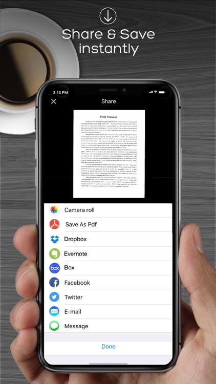 iScan Pro OCR Scanner For Docs screenshot-3