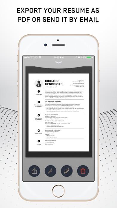 Resumer: CV & Resume builder screenshot 1