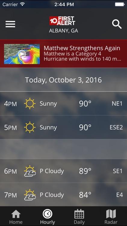 WALB First Alert Weather screenshot-3
