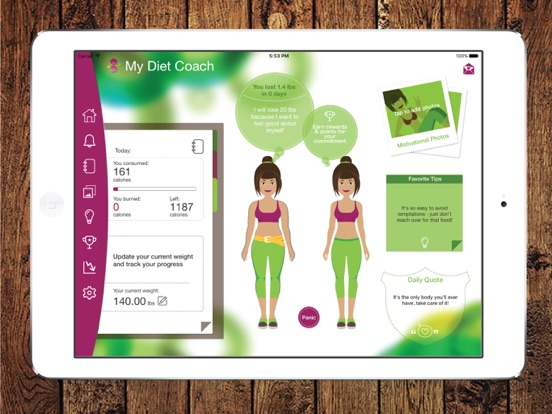 My Diet Coach - Weight Loss iPad