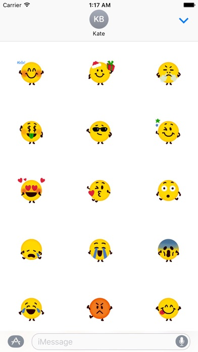 Facemoji - Funny Emoji Sticker screenshot 1