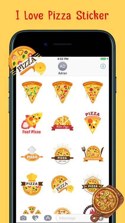 Loving Hot Pizza Stickers