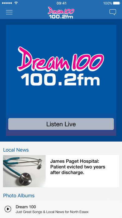 Dream 100 Live Player