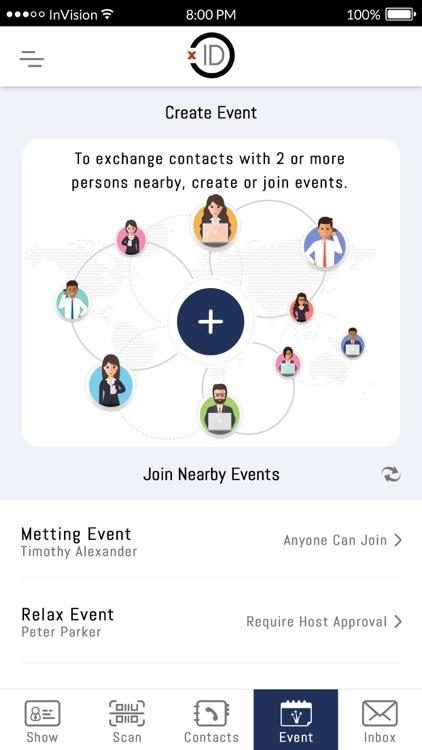 xID Digital Business Card screenshot-3