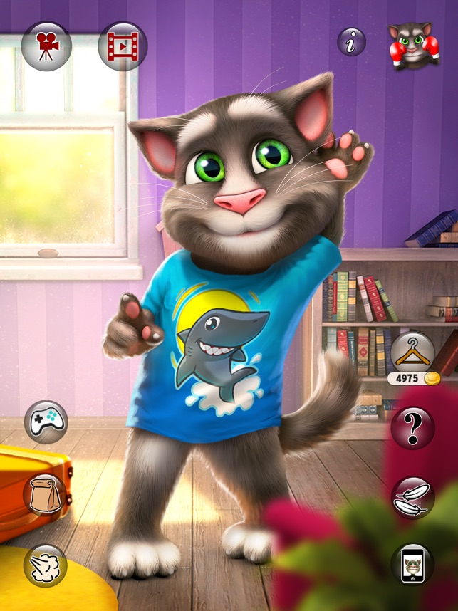 Talking Tom Cat 2 For Ipad On The App Store