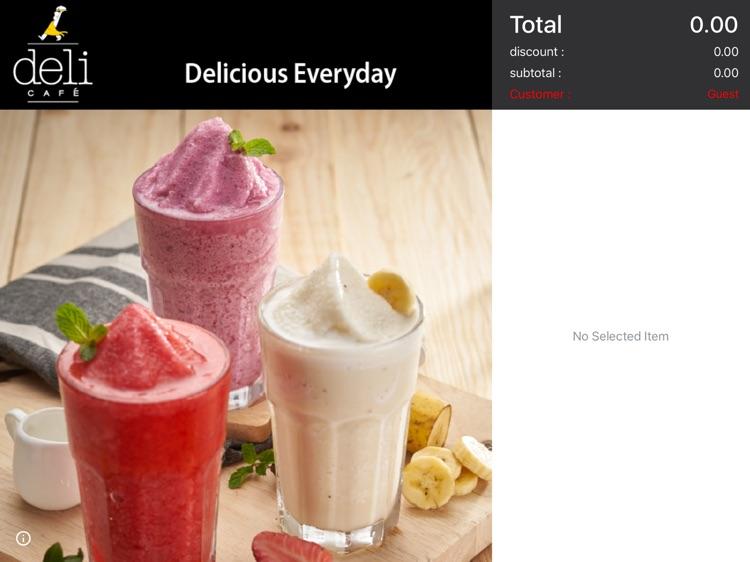 Tab2Pay Customer Screen