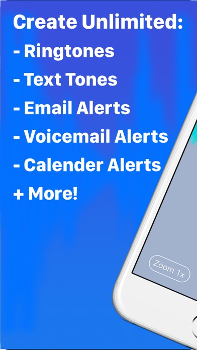 Ringtone Designer Pro - Create Unlimited Ringtones, Text Tones, Email Alerts, and More Screenshot 2