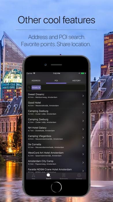 Netherlands Offline Navigation Screenshot