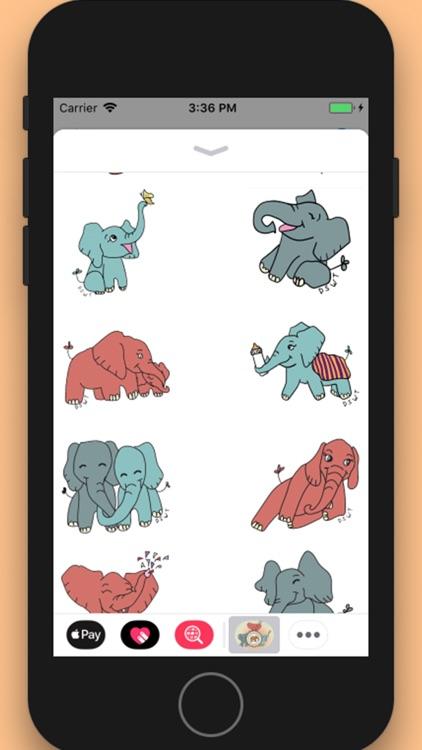 DSWT Baby Elephant Stickers