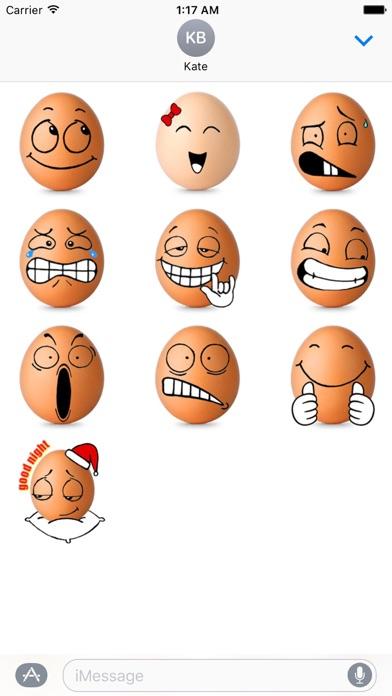 download Love Of Eggs Eggmoji Sticker apps 0