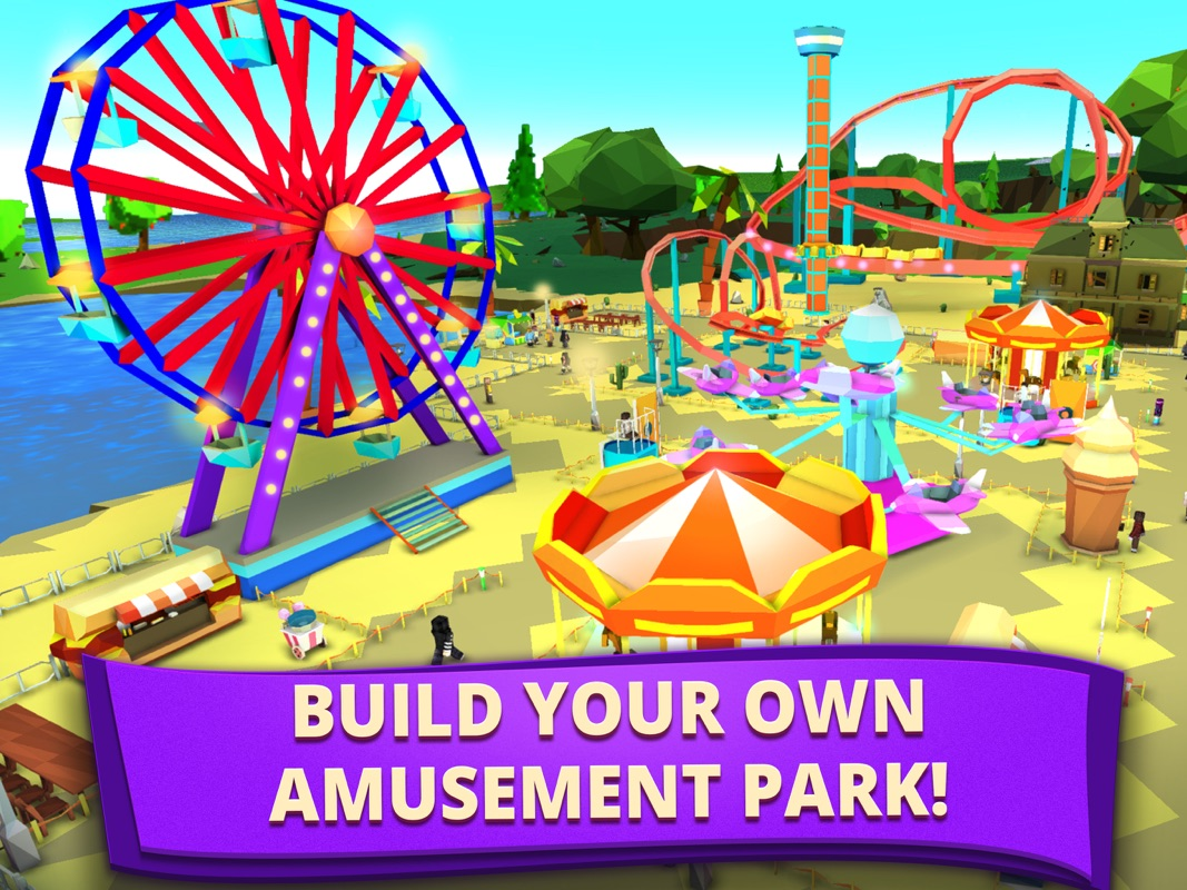My Theme Park: Fun Park Tycoon - Online Game Hack and Cheat | Gehack com