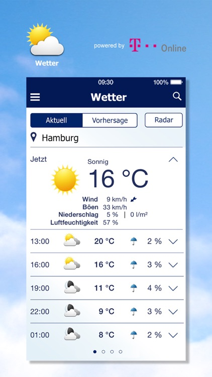 Wetter von t-online.de screenshot-0