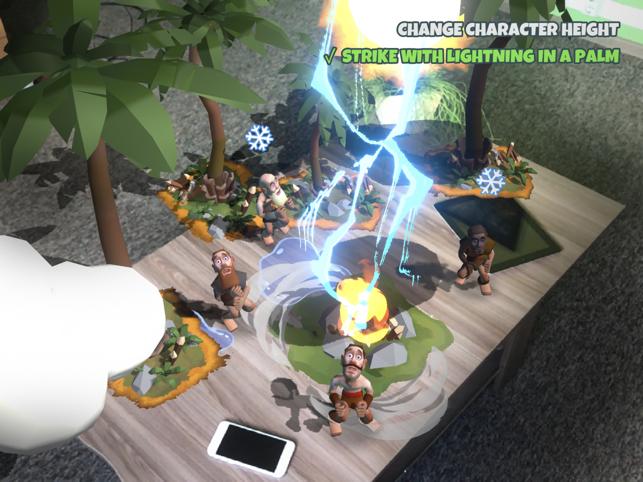 ARrived (AR Симулятор Бога) Screenshot