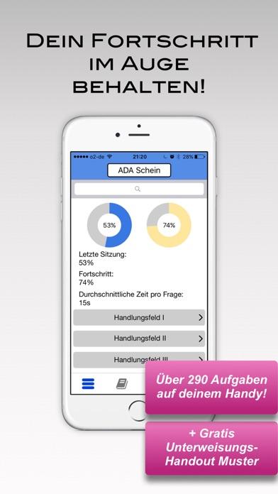 Screenshot for ADA-Schein in Germany App Store