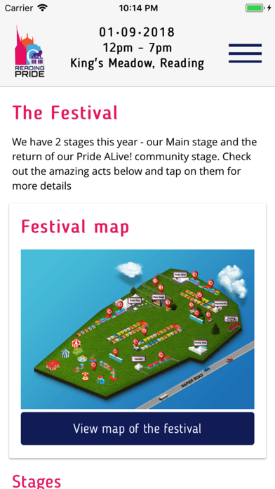 Reading Pride screenshot three